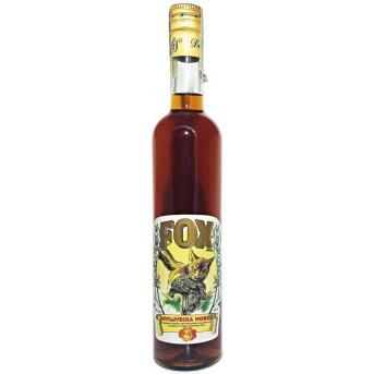 Fox - lovecká hořká 38% 0,5 l - Delis - myslivecký likér