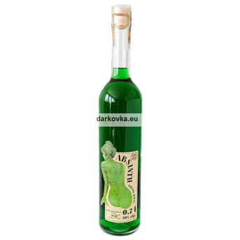 Absinth - Zelená múza Delis 70% 0,7 l - Absinthe český originál