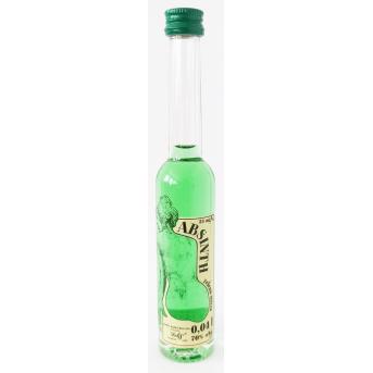Absinth original múza 34 Delis 70% 0,04 l mini