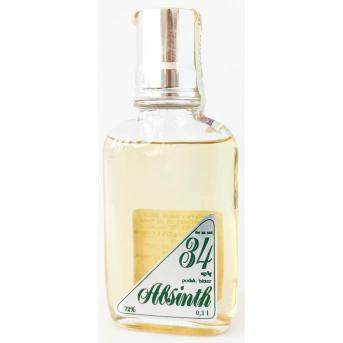Absinth original tapka 34 Delis 72% 0,1 l kapesní