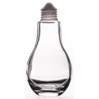 Žárovka - dárková lahev 200 ml - prázdná reklamní lahev