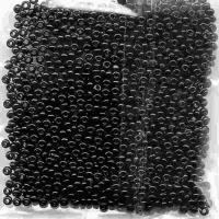 Rokajlové korálky černé - 10 / 0