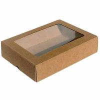 Dárková krabička - okénko - dvoudílná