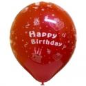 Potisk balónků